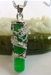Wholesale China Wholesale Jewerly - The new 2014 cylinder dragon stone pendant necklace Handmade jewelry Spsp50018 cheap china fashion jewelry hingh fashion jewerly new design