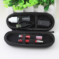 Wholesale E Liquid Ego Ce5 - eGo CE5 electronic cigarette zipper case ego kit with CE5 rebuildable atomizer for e liquid & 650 mAh 900mAh 1100mAh ego t battery DHL free