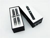 Wholesale Evod Starter Set Kit - new Double eVod BCC MT3 gift box kits Electronic Cigarette starter kit with mt3 Rechargable atomizer eVod Battery 650mah 900mah 1100mah