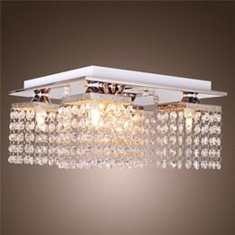 Wholesale Metal Modern Ceiling Lighting - New Arrival Modern Crystal Ceiling Light with 5 Lights Hanging Crystal Chandelier Solid Metal Crystal Chandelier Lamps Pendent Lights