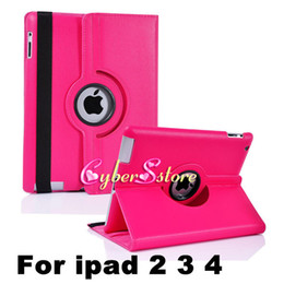 Wholesale Case Rotate - For ipad 3 air   air2 mini 360 Degree Rotating Rotary PU Leather Case Smart Cover Stand For New iPad Pro 10.5 4