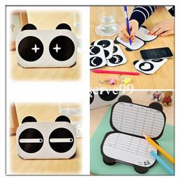 Wholesale Wholesale Korean Stationary - Cute Panda Cartoon Notebook Mini Memo Pad Notepad Korean Stationary Kids Students Gifts