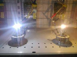 Wholesale Led 36v Headlights - 8V-36V ( 12V 24V 36V ) racing car and motorcycle headlights super brightness 15W COB LED Motorcycle headlamp head light head lamps