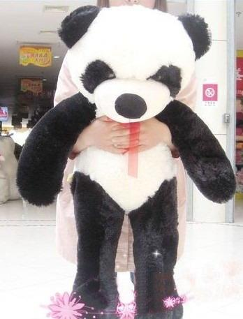 2019 Giant Huge Big 40 Panda Bear Stuffed Plush Animal Toy From