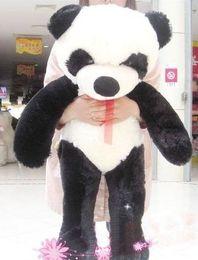 "Wholesale Huge Panda Plush - GIANT HUGE BIG 40"" PANDA BEAR STUFFED PLUSH ANIMAL TOY"