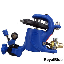 Wholesale Swashdrive Tattoo Machines - Profession Swashdrive Gen Style RoyalBlue Rotary Tattoo Machine Gun Shader Liner 8 Colors available For Tattoo Needle Ink Cups Tips Kits
