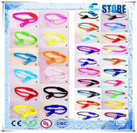 Wholesale New Zip Bracelet Wristband - A+++!High quality!!New Zip bracelet wristband candy bracelet Popular Zipper bracelet 32 colors,M
