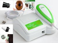 Wholesale Iriscope Analyzer - New 2 in 1 Iriscope Iridology Camera Hair analyzer Hair Diagnosis with Pro Automatic Iris&Hair Diagnosis English Software