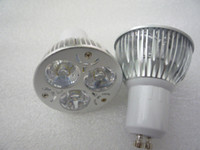 Wholesale Cheap White Leds - MOQ5 Cheap Price 3W GU10 LED Spotlight Bulbs Lamp GU 10 3 x 1W Light 85-265V 3 LEDs High Power Chip CE ROSH 2 Years Warranty Dropshiping