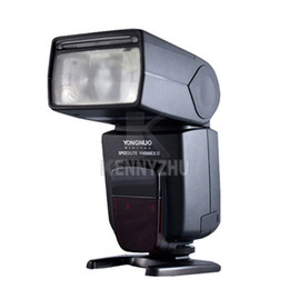 Wholesale Yongnuo 568ex Ii - New Version YONGNUO YN-568EX YN568 II Flash Speedlite TTL Master High-Speed Sync 1 8000s For Canon DSLR Camera 5D II III 550D 60D 7D