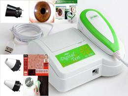 Wholesale Iriscope Analyzer - 3 in 1 Iriscope&Skin&Hair Diagnosis Analyzer with Lens 30X,50XP,200X English Iris Skin Hair Diagnosis Software-CE FCC
