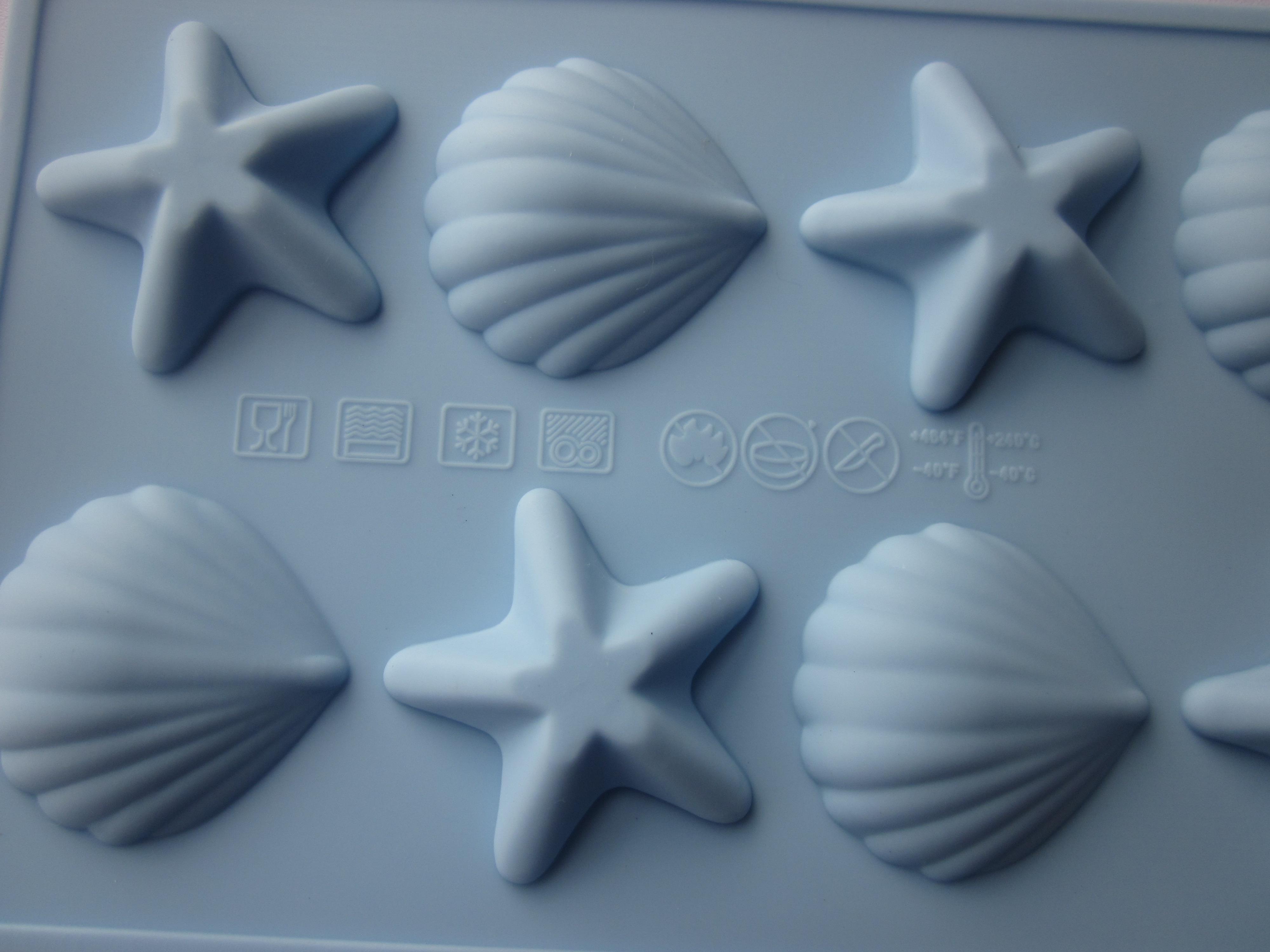 20 st / parti 100% silikongummi silikonkaka mögel / silikon choklad mögel / spirande mögel / gelé mögel / tårta verktyg / matlagning verktyg + gratis frakt