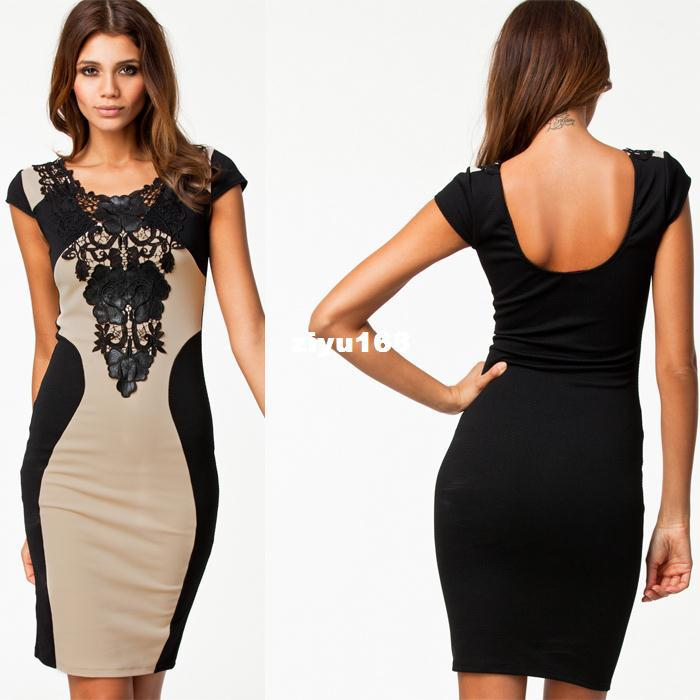 3f59e948c5cc 2019 Hot Sale Women Dress New Fashion 2014 Club Dress With Embroidery  Patchwork Sexy Slim Bodycon Party Dresses From Ziyu168, $24.59 | DHgate.Com
