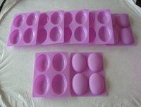 geléia de borracha fda venda por atacado-10 pçs / lote 100% silicone molde de silicone de borracha / bolo de silicone / molde chocalate / jelly mold / soap mold + frete grátis