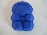 geléia de borracha fda venda por atacado-10 pçs / lote 100% ferramentas de silicone forma de urso de silicone ferramentas de silicone / ferramentas de cozimento de silicone molde do bolo de silicone / molde chocalate / geléia molde / sabão