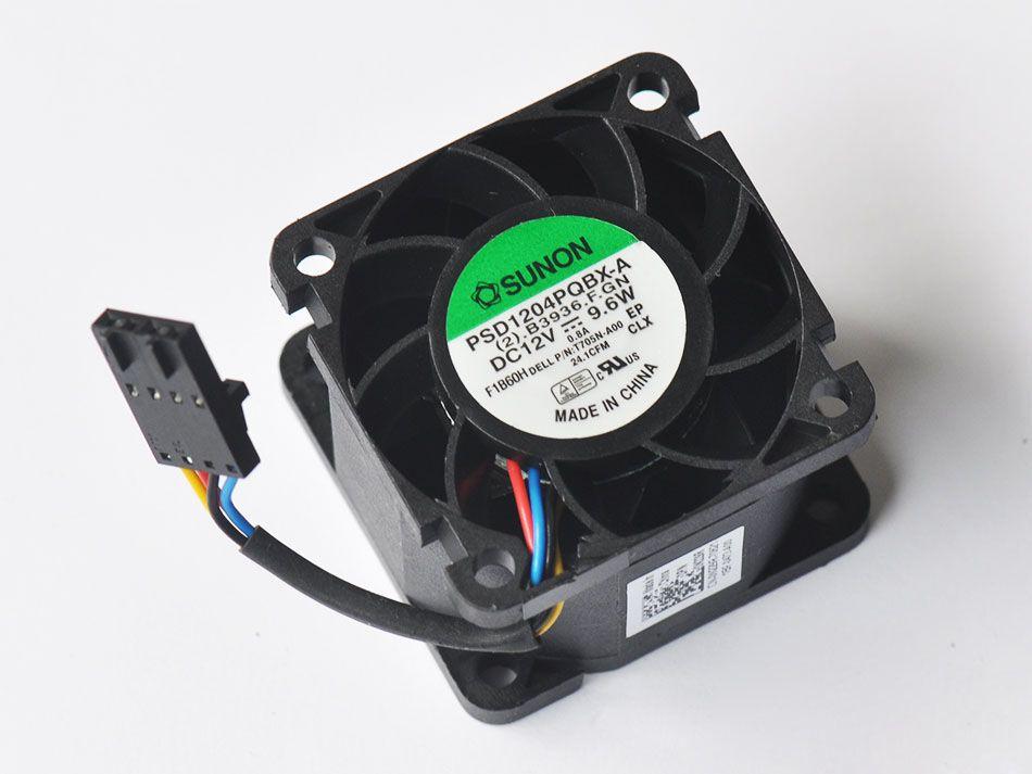 Dell R210 Serverファン0T705N 0N229R Sunon 40 * 40 * 28mm PSD1204PQBX-A