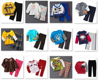 Wholesale Baby Jumping Bean Suit - 2014 Jumping Beans Boy's Tracksuits Baby suits Tees Shirt Pants sets HOT SALE cheapest Free Shipping