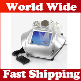 Vacuum lymphatic machine online shopping - With detail viedo operation manal No Side Ultrasonic Cavitation Slimming Machine Vacuum Multipole RF face lift Lymphatic circulation