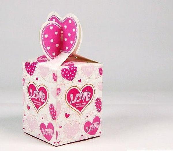 50pcs/lot European technology Wedding candy box Reply candy box Gift candy box TH15