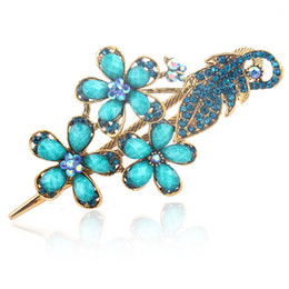 Wholesale Trade Hair Clips - foreign trade scarf clip Hot new palace antique hair accessories