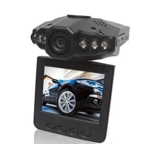 도매 - 핫 자동차 DVR 회전 가능한 270도 2.5inch LCD 화려한 스크린 6 LED 120도