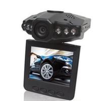 video kamera 2.5 toptan satış-Toptan Satış - Sıcak Araba DVR Dönebilir 270 Derece 2.5 inç LCD Renkli Ekran 6 LED 120 Derece