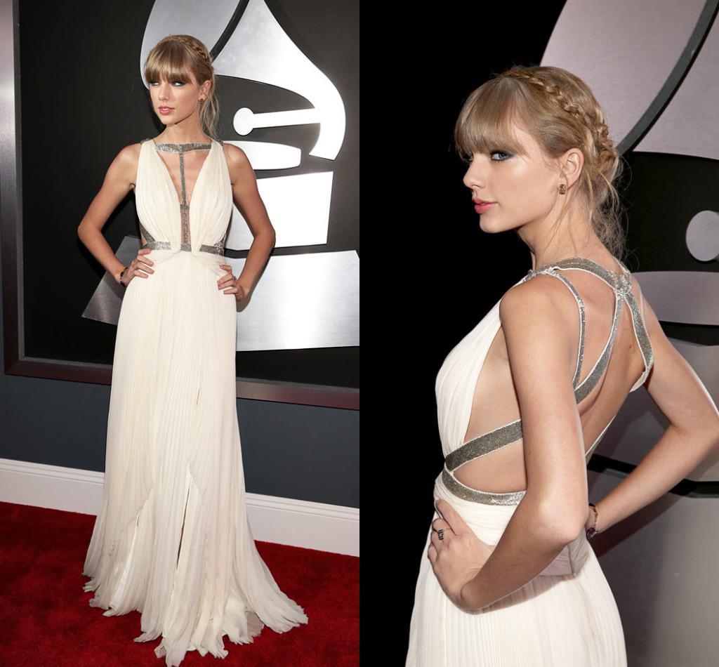 Lk Taylor Swift J. Mendel New Arrival Celebrity Evening Dresses Deep ...
