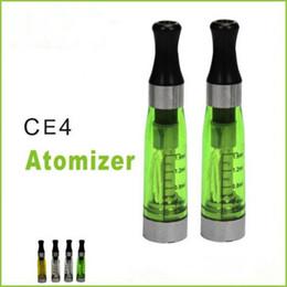 Wholesale Ce4 Rebuildable - CE4 Atomizer Electronic Cigarette rebuildable atomizer for 510 eGo battery eGo Atomizer e cigarette