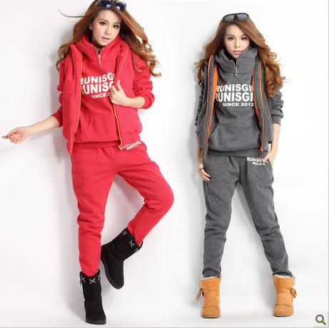 2018 2015 Autumn And Winter Women S Jogging Tracksuits