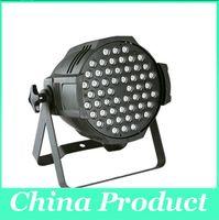 par 64 bühnenlicht großhandel-54 * 3W LED Par Licht LED Bühnenbeleuchtung RGB CE Genehmigt RGBW 54 * 3W LED Par Licht Bühne Par 64 Licht Q102 UK US AU EU Stecker