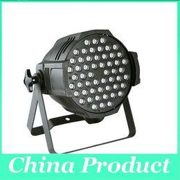 Wholesale 54 Led Par Lights - 54*3W LED Par Light led stage lighting RGB CE Approved RGBW 54*3W LED Par Light Stage Par 64 Light Q102 UK US AU EU Plug
