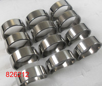 Wholesale Stainless Steel Ring Plain - 30pcs lot Silver Simple Plain 8mm Width Fashion Stainless Steel Rings For Men Wholesale Jewelry Lots