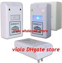 Wholesale Cockroach Traps - 300pcs lot Electronic Riddex Pest Control Pest Repelling Aid Pest Killer 110V 220V