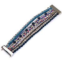 Wholesale Brazilian Magnetic - New Fashion Hipanema Bracelet,Brazilian Style Magnetic Hipanema Bracelet, multilayer bracelet with magnetic clasp