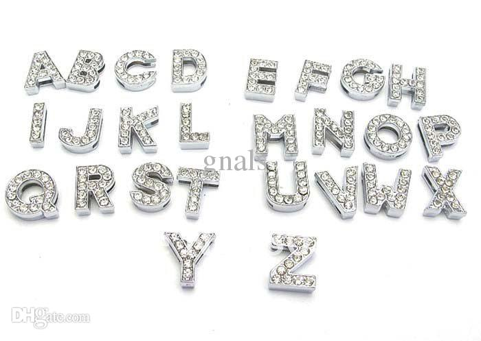 130 Unités de Mélange Pacotilles Complète Symbole Charmant Lettre Curseur Alliage Zinc Chiffres 0-9/Alphabet A-Z 8mm 10mm