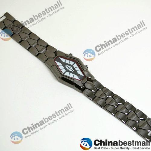 Fashion Luxury Watches LED Bracelet Sport Watch Iron Man Women Retro Creative Cobra Snake Watches Lady Relogio Masculino Wristwatches