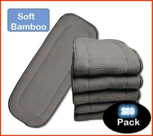 Bamboo Charcoal LINER/INSERTS/BOOSTERS for Cloth Reusable NAPPY/DIAPER