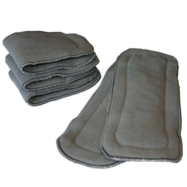 best selling Bamboo Charcoal LINER INSERTS BOOSTERS for Cloth Reusable NAPPY DIAPER 200pcs lot