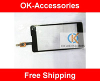 Wholesale E973 Digitizer - Touch Screen Digitizer Touch Panel For LG Optimus G LS970 E975 E973 E977 1PC Lot Free Shipping