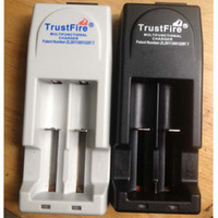 Wholesale trustfire chargers - Free DHL,3V-3.6V voltage TrustFire 001 TR001 Lithium Battery Charger for 14500 16340 18500 18650 Battery EU US Plug