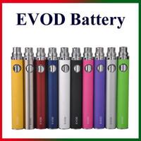 Wholesale mini cigarettes for sale - Group buy EGO T eVod Battery mAh Sufficient Capacity for eGo Thread E Cigarettes Nautilus Mini Aerotank Mini Protank Atomizers