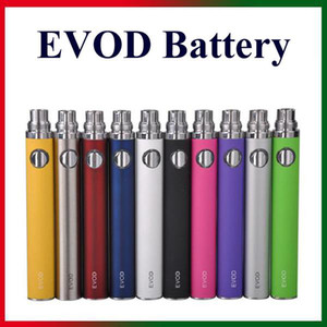 Wholesale EGO T eVod Battery mAh Sufficient Capacity for eGo Thread E Cigarettes Nautilus Mini Aerotank Mini Protank Atomizers