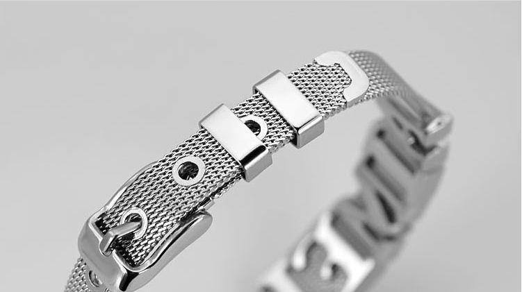 12 шт. 10мм / 8 мм Браслет из нержавеющей стали с резиновыми пробками на цепочке Самостоятельная сборка с использованием букв из скользкого рейнского камня.