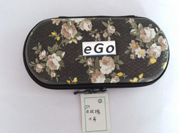 Wholesale Ego Case Xl - New 50pc lot A+quality Hot S M XM L XL Size Ego Box Ego Case with Zipper Ego Bag for 650 900 1100 mAh Electronic Kit Cigarette Free shipping