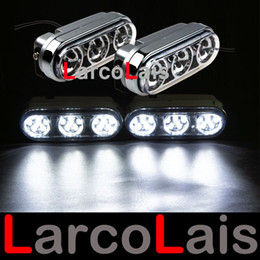 Super Bright 12V 2x21 Led Car Truck Van Daytime Driving Driving Nebbia Luci diurne bianche