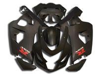 Wholesale Free custom faring kit for SUZUKI GSXR600 GSXR750 K4 aftermarket GSX R600 black fairings set CR45