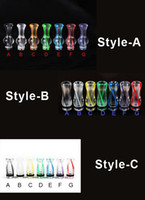 Wholesale Ego Ecig Dct Tank - Ribbon Drip Tips Rich Colors 510 Plastic Drip Tip King Kong Gourd EGO Atomizer Mouthpieces for CE4 CE5 DCT EE2 CE6 Ecig tanks E Cigarette