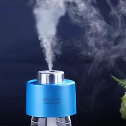 bouteille d'humidificateur Promotion 2015 Nouvelle Arrivée MINI Bouteille Caps USB Humidificateur Couleur Mignon Désodorisant Aroma Spray Diffuseur Humidificateurs MINI Home Appliances SH317