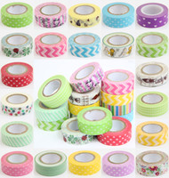 Wholesale Decorative Sticky Tape - Details about Lot Of 10 PCS 1.5cm*10M DIY paper Sticky Adhesive Sticker Decorative Washi Tape