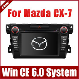 Wholesale Mazda Cx7 Dvd - Auto Radio Car DVD Player GPS Navigation for Mazda CX-7 CX7 2007-2013 with Bluetooth TV CD USB AUX SD 3G Audio Video Stereo